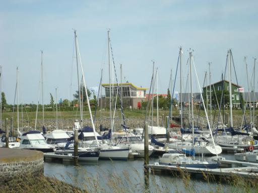 Boten in de Jachthaven