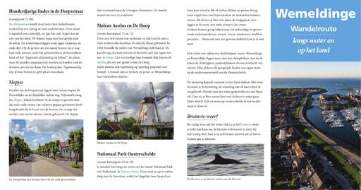 Wandelbrochure Wemeldinge langs water en op het land