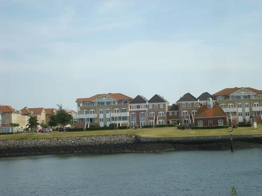 Zicht op de haven Wemeldinge