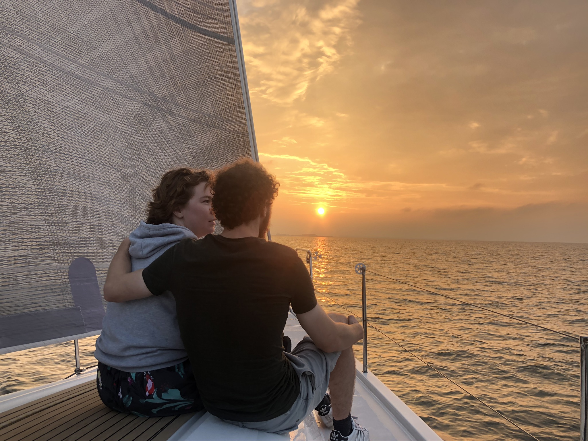 Sunset sailing met SailForce 16-17 juli 2021