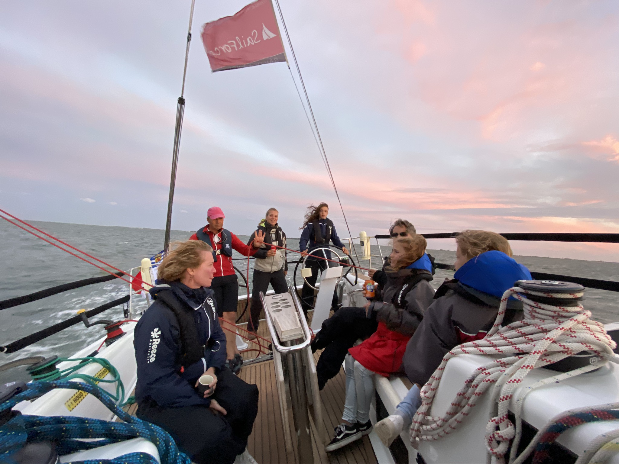 Sunset sailing met SailForce 27-28 augustus 2021