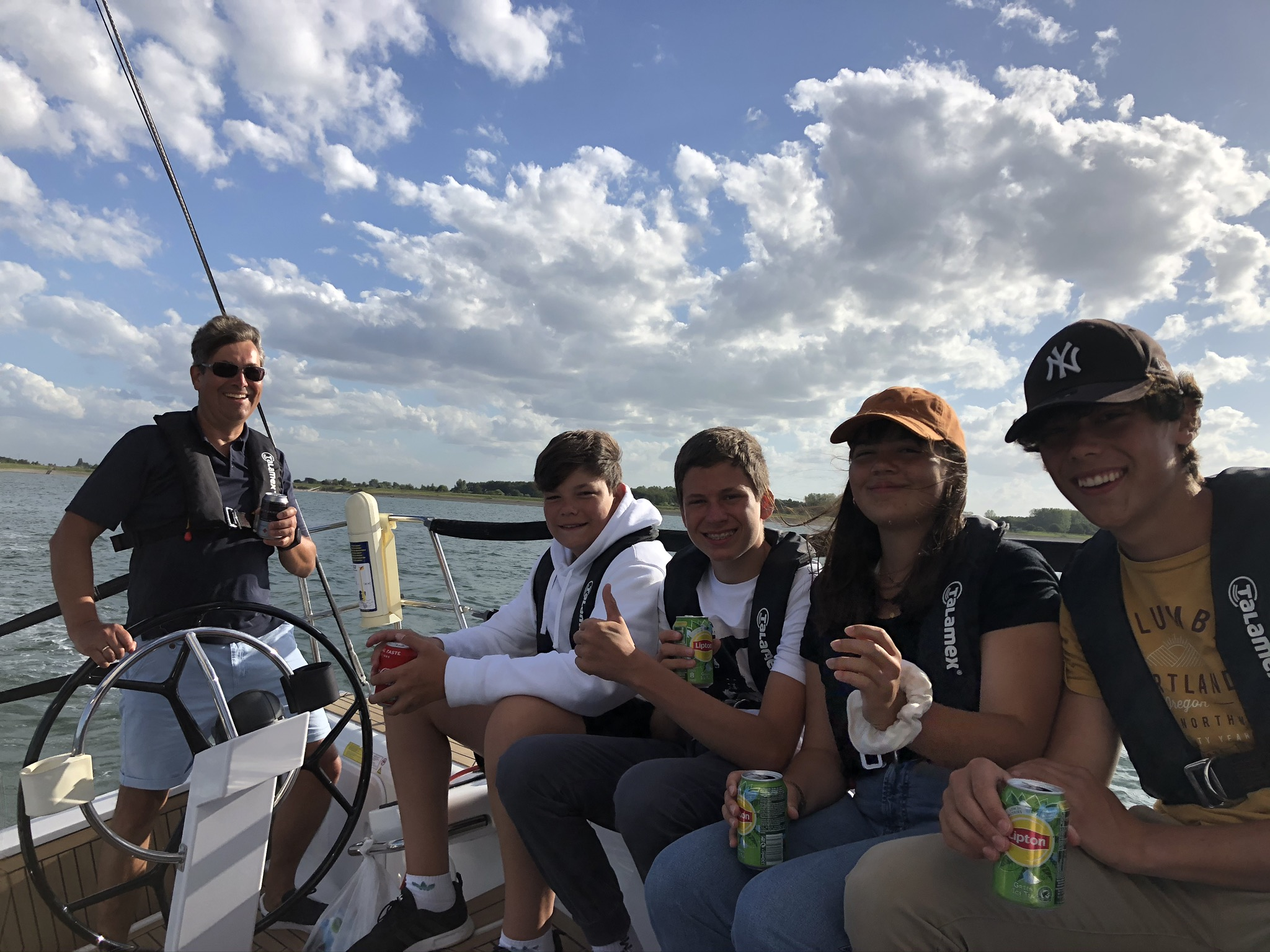 Sunset sailing met SailForce 30-31 juli 2021