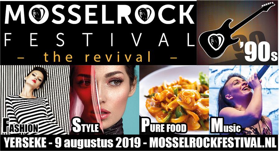 Mosselrock Festival 9 augustus Yerseke