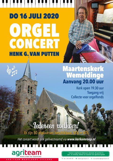 Gratis orgelconcert Maartenskerk