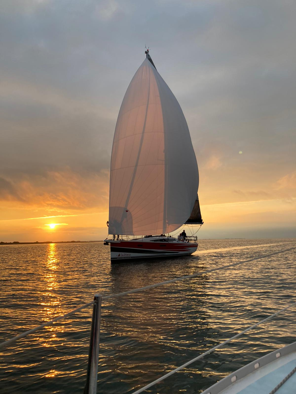 Sunset sailing met SailForce 6-7 augustus 2021