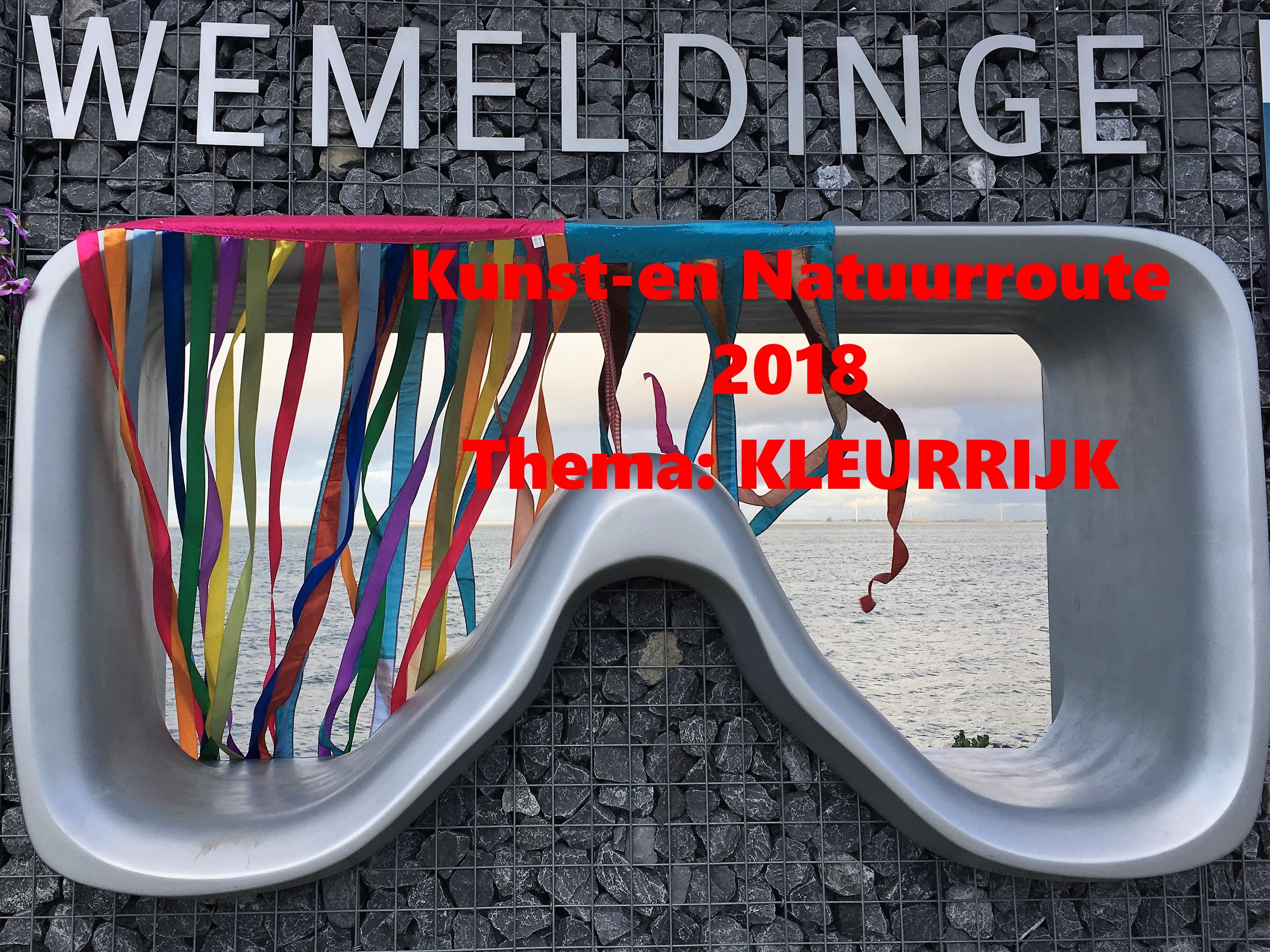 Kunst- en Natuurroute Wemeldinge 2018