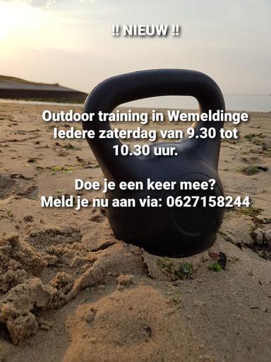 Outdoor training (Op zaterdag)