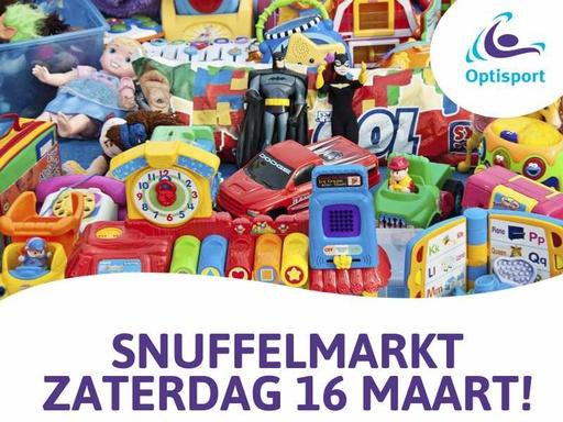 Snuffelmarkt zaterdag 16 maart in Dorpshuis de Wemel!