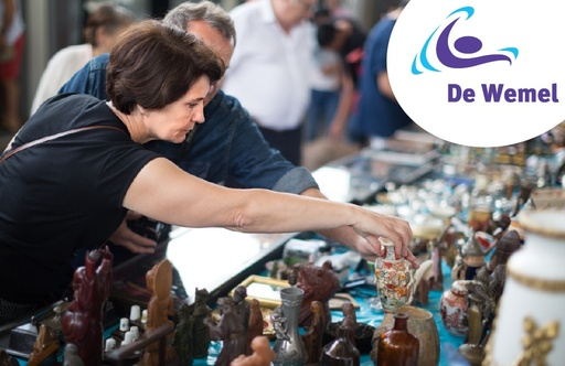 Snuffelmarkt zaterdag 5 oktober 2019