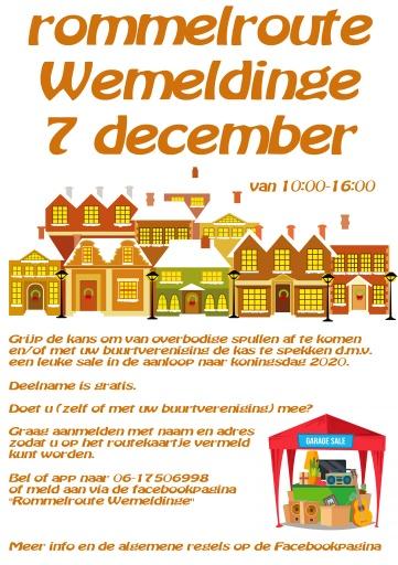 Rommelroute Wemeldinge 7 december
