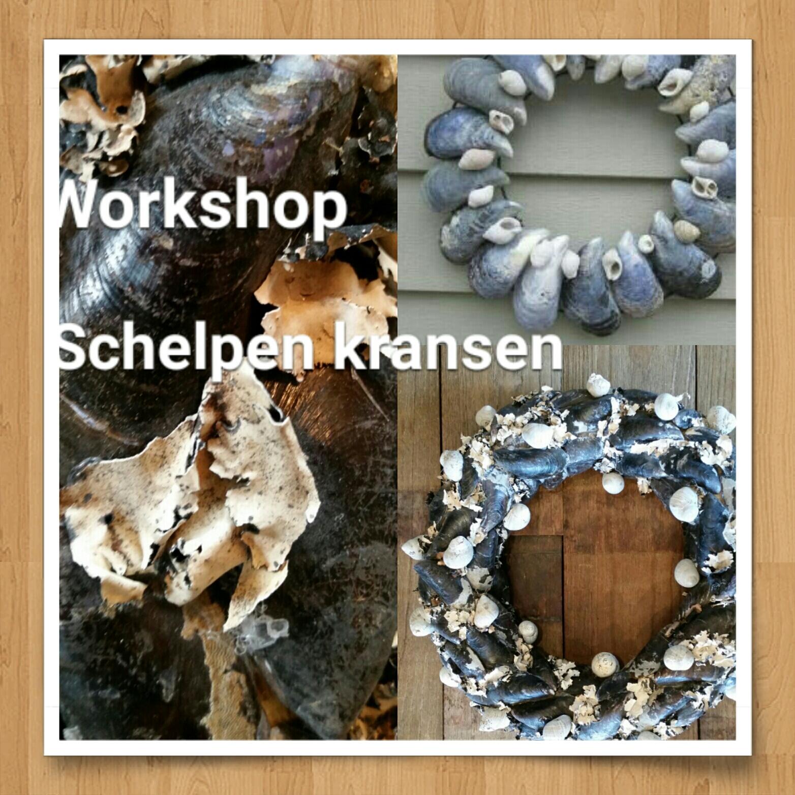 Workshop zilte zee schelpenkrans