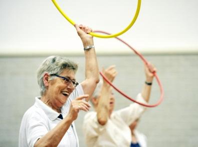 Iedere maandag in de Wemel: Seniorengym