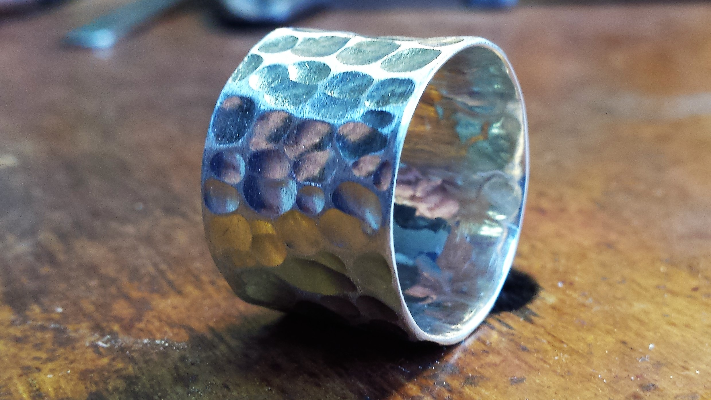 Workshop zilveren ring maken